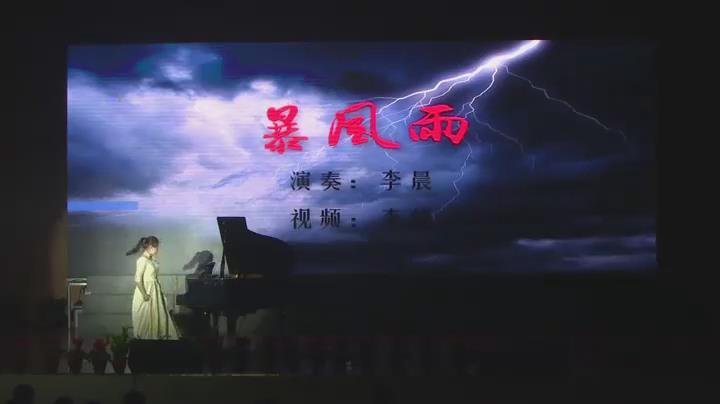 冬之旅----钢琴独奏《暴风雨》